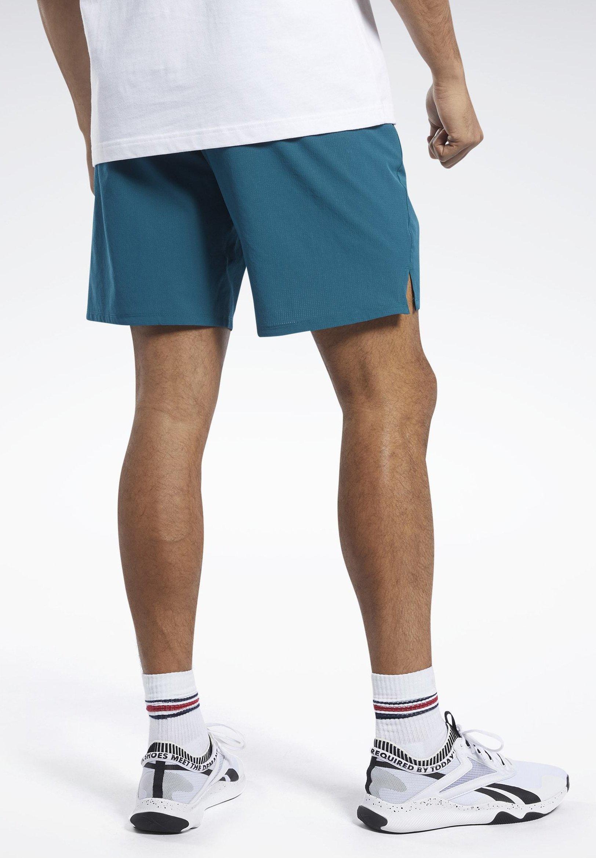 Reebok Epic Shorts - Träningsshorts Heritage Teal