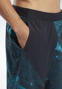 Reebok - SPEEDWICK SPEED SHORTS - Sports shorts - seaport teal - 4