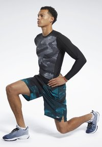 Reebok - SPEEDWICK SPEED SHORTS - Sports shorts - seaport teal - 1