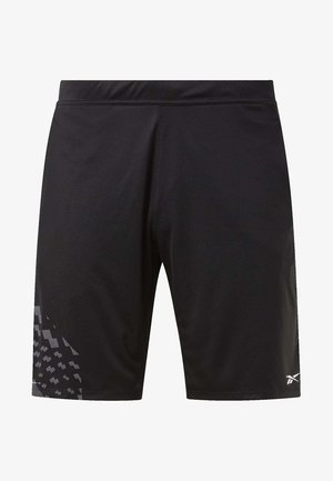 KNIT SHORTS - Sports shorts - black