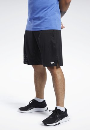 KNIT SHORTS - Short de sport - black
