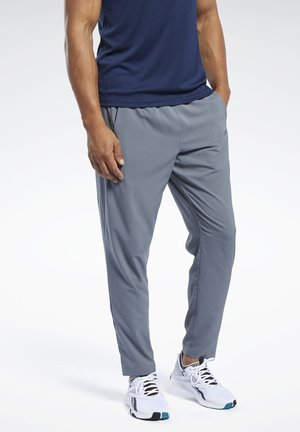 WORKOUT READY TRACKSTER PANTS - Tracksuit bottoms - grey