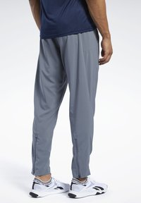 Reebok - WORKOUT READY TRACKSTER PANTS - Tracksuit bottoms - grey - 2
