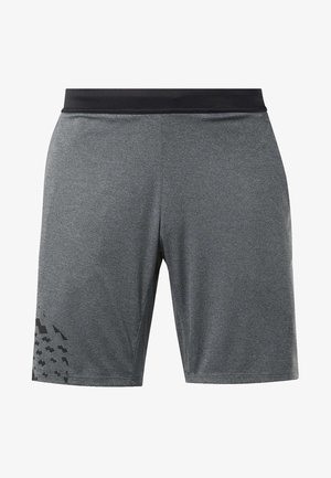 KNIT SHORTS - Sports shorts - grey