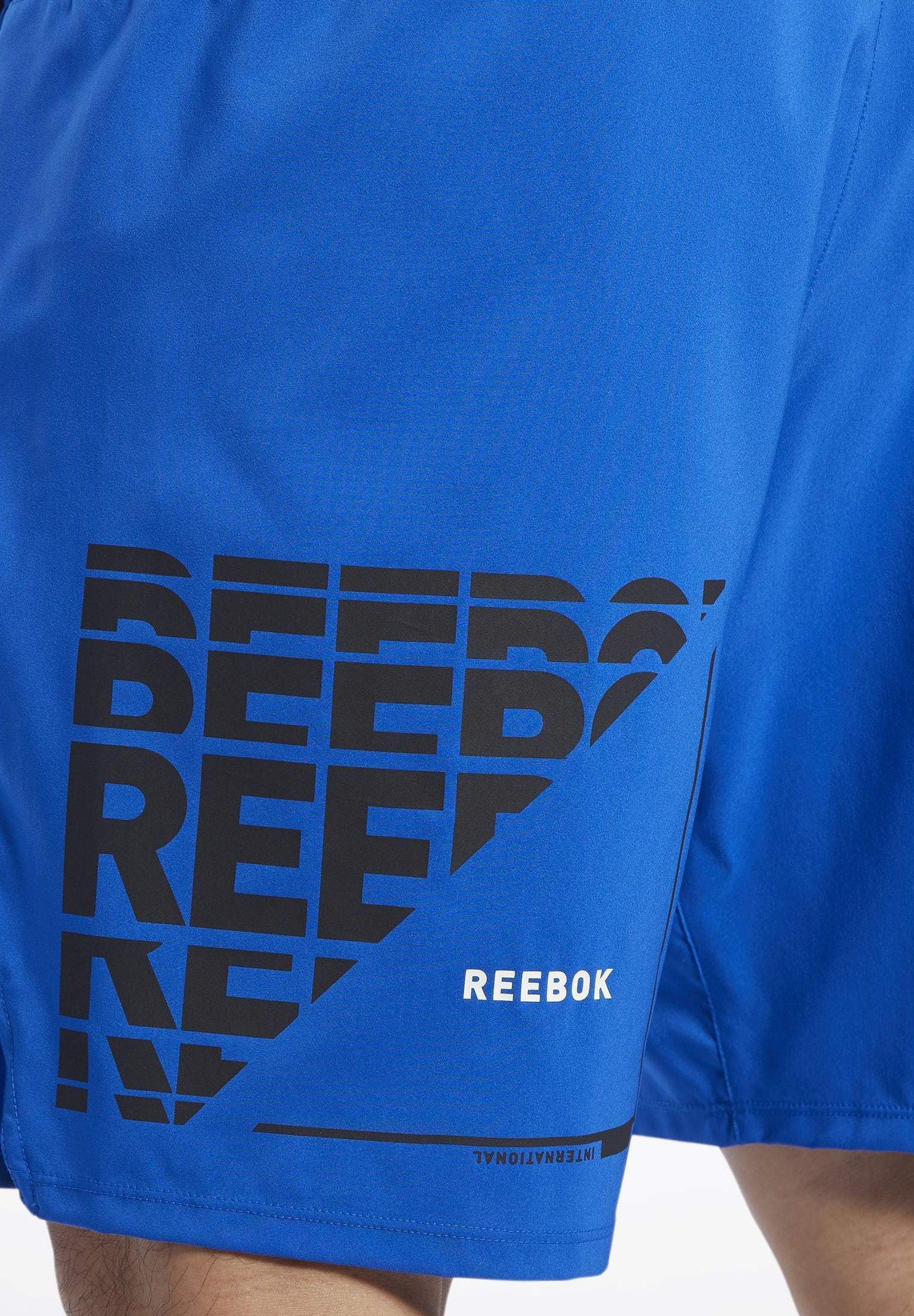 Reebok EPIC SHORTS - Short de sport - humble blue