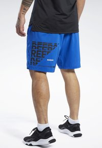 Reebok - EPIC SHORTS - Short de sport - humble blue - 2