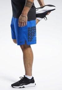 Reebok - EPIC SHORTS - Short de sport - humble blue - 3