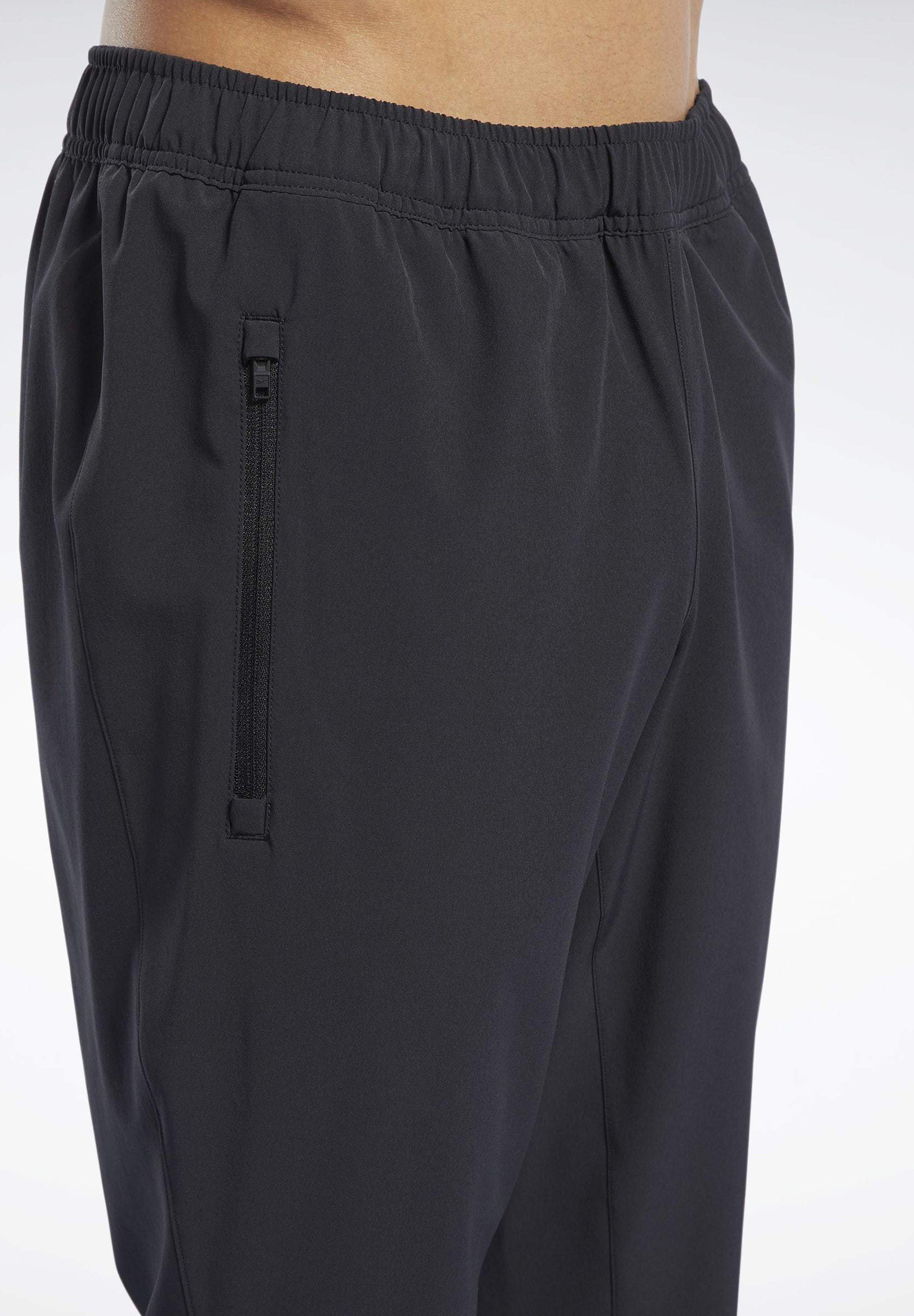 Reebok SPEEDWICK TRACKSTER WOVEN PANTS - Spodnie treningowe - black
