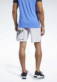 Reebok - EPIC SHORTS - Sports shorts - sterling grey - 2