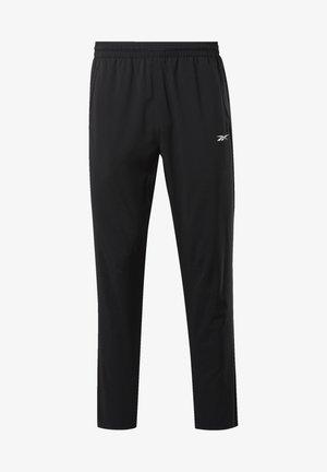 WORKOUT READY TRACKSTER PANTS - Pantalon de survêtement - black