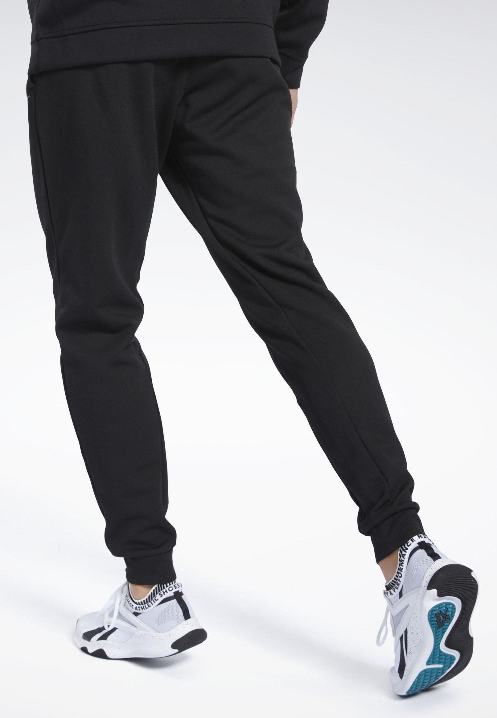 Reebok WORKOUT READY JOGGERS - Spodnie treningowe - black