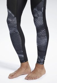 Reebok - SPEEDWICK COMPRESSION TIGHTS - Tights - black - 4