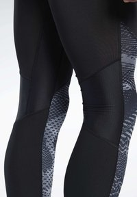Reebok - SPEEDWICK COMPRESSION TIGHTS - Tights - black - 5