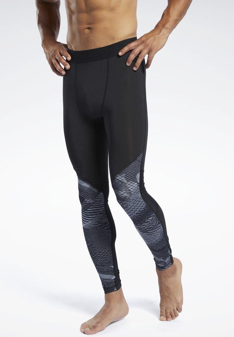 Reebok - SPEEDWICK COMPRESSION TIGHTS - Tights - black