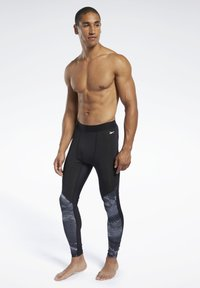 Reebok - SPEEDWICK COMPRESSION TIGHTS - Tights - black - 1