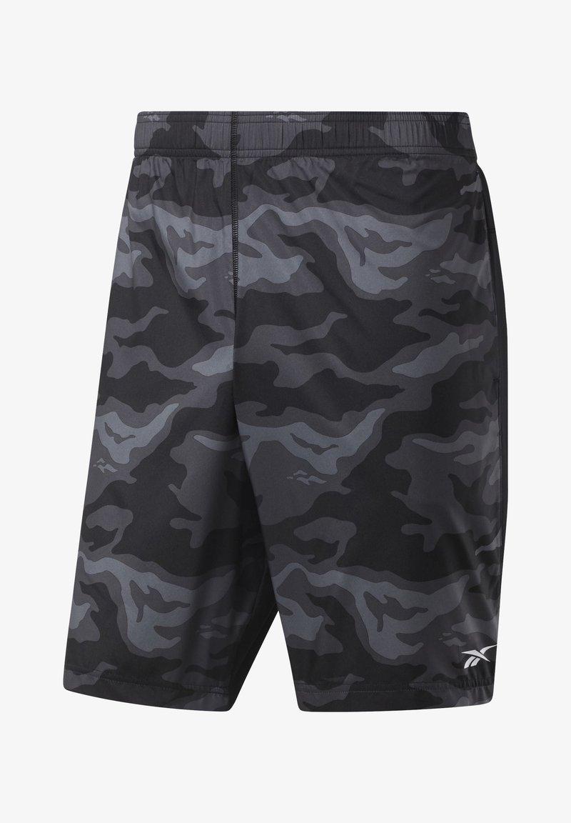Reebok - WORKOUT READY GRAPHIC SHORTS - Sports shorts - black