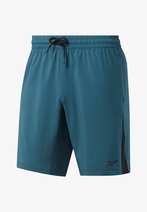 WORKOUT READY SHORTS - Shorts - teal