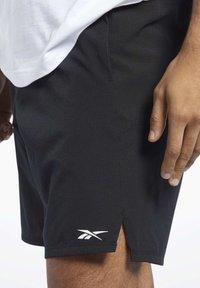 Reebok - EPIC SHORTS - Shorts - black - 2