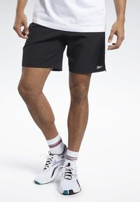 Reebok - EPIC SHORTS - Shorts - black - 0