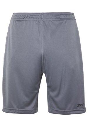 SHORT - Sportovní kraťasy - mottled grey