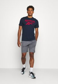 Reebok - SHORT - Korte broeken - mottled grey - 1