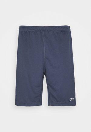 SHORT - Sportovní kraťasy - dark blue