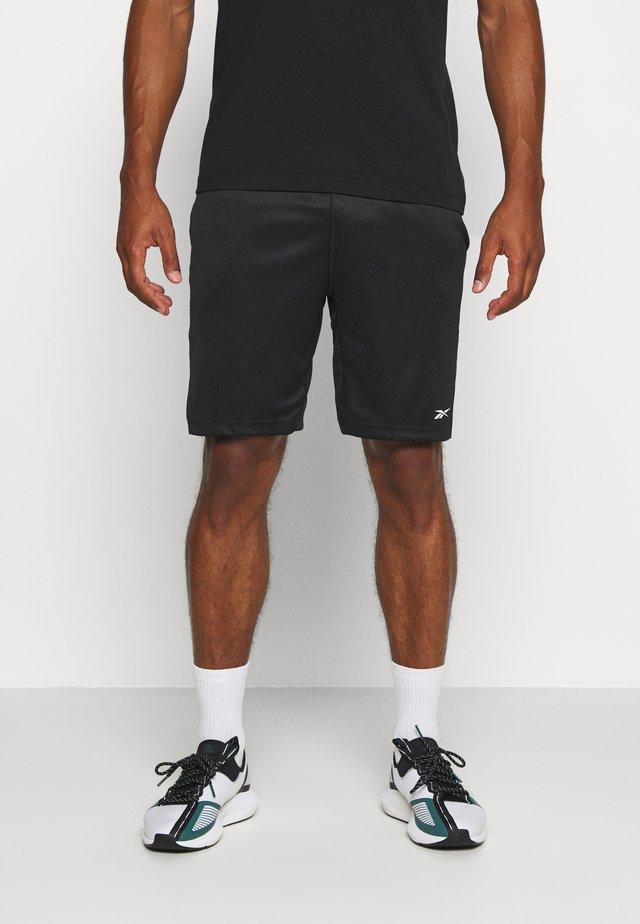 SHORT - Träningsshorts - black