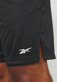Reebok - SHORT - Korte broeken - black - 5