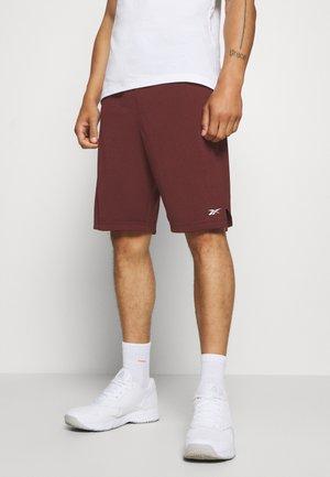 MEL  - Pantalón corto de deporte - maroon
