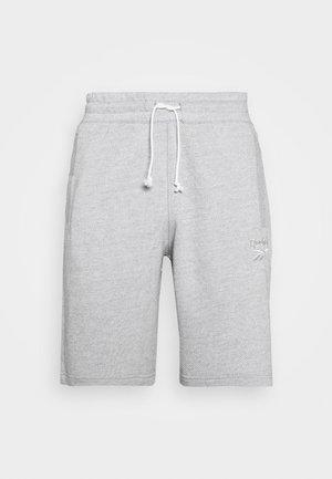 MELANGE SHORT - Korte broeken - medium grey heather