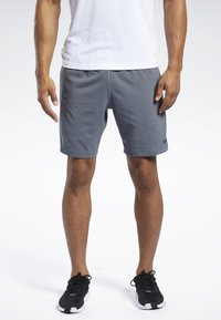Reebok - WORKOUT READY SHORTS - Korte broeken - grey - 0
