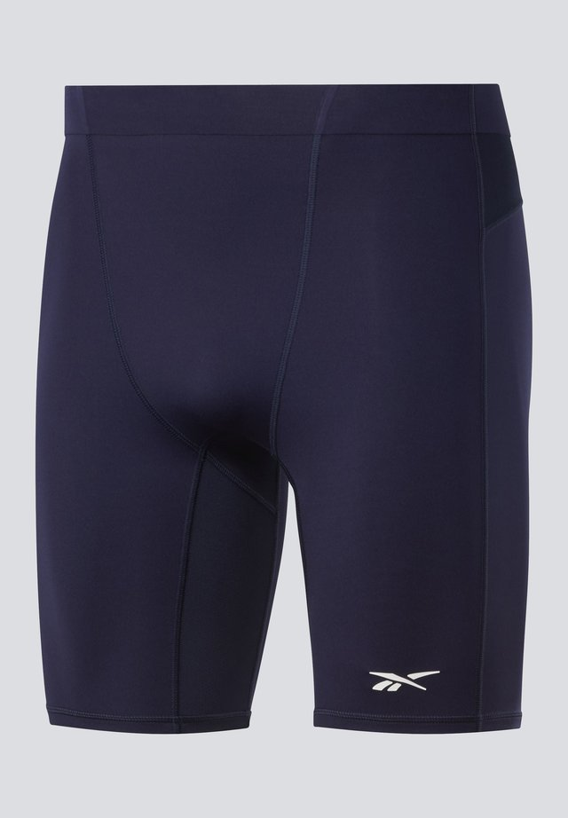 UNITED BY FITNESS COMPRESSION SHORTS - Urheilushortsit - blue