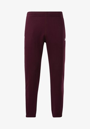 TRAINING ESSENTIALS LINEAR LOGO JOGGERS - Collant - burgundy