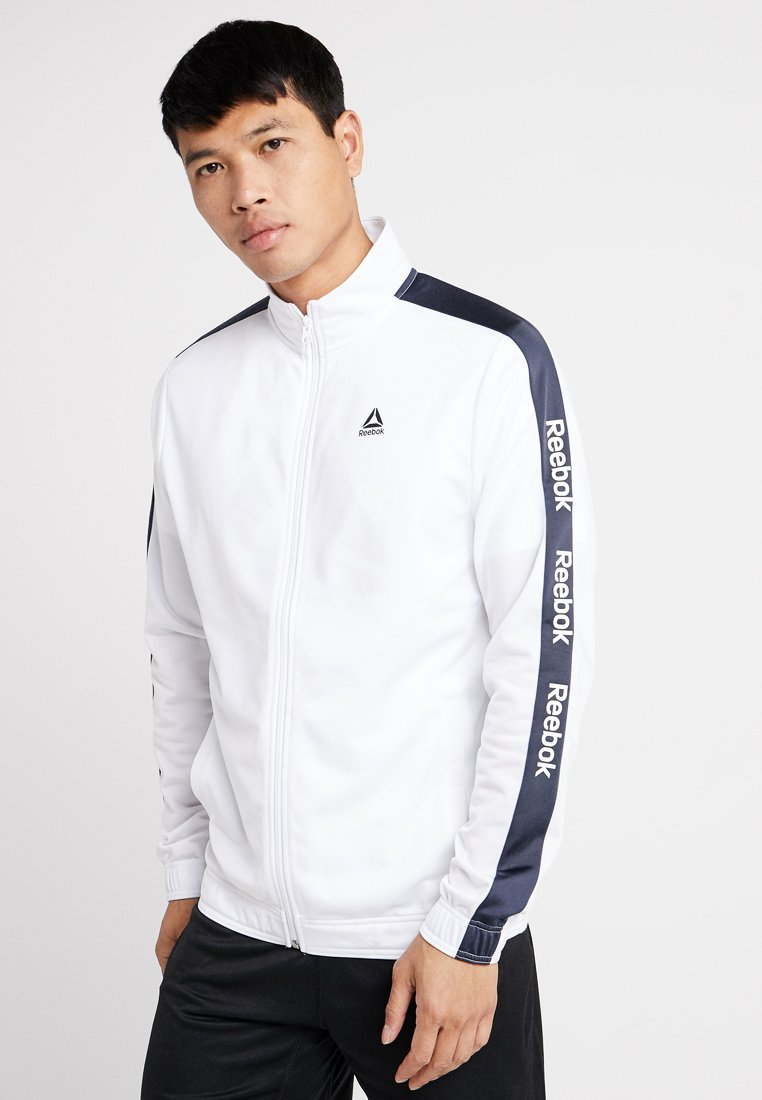 Reebok - TRAINING TRACK JACKET - Veste de survêtement - white