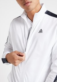 Reebok - TRAINING TRACK JACKET - Veste de survêtement - white - 4