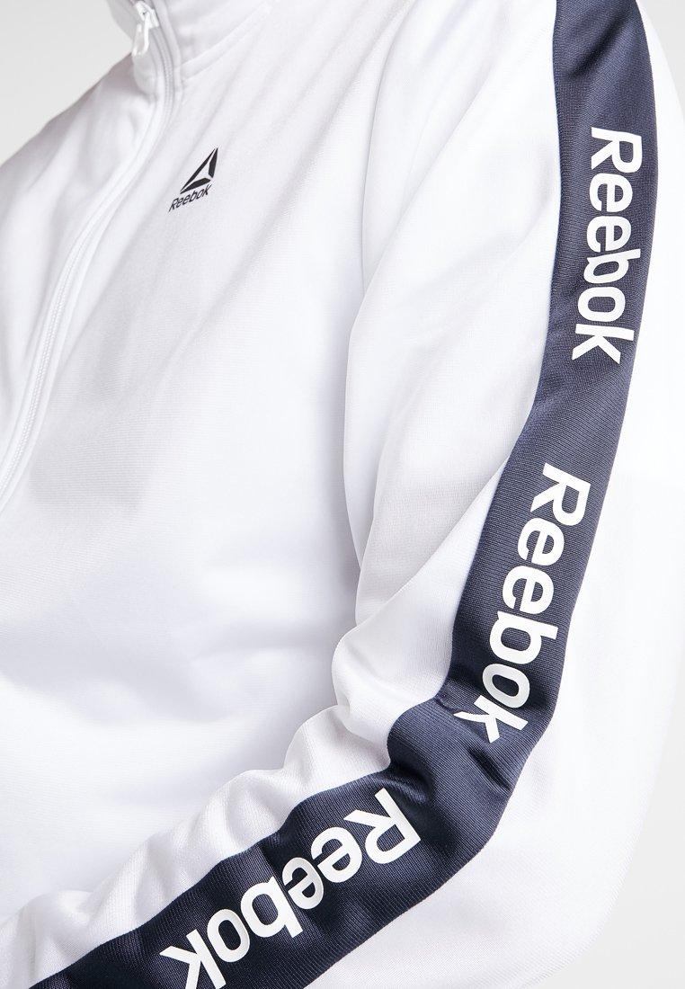 Track Reebok Sportiva Training White JacketGiacca SUVzpqM