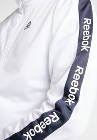 Reebok - TRAINING TRACK JACKET - Veste de survêtement - white - 6