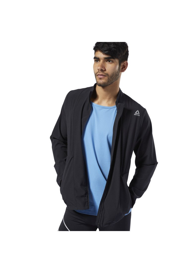 Reebok - ONE SERIES RUNNING HERO JACKET - Giacca da corsa - black