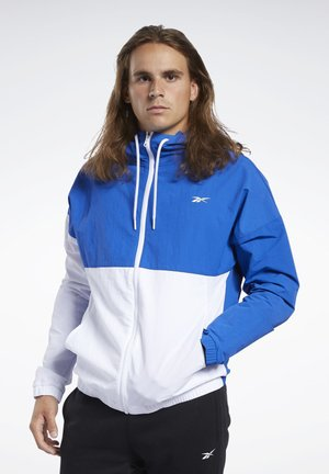 TRAINING ESSENTIALS WINDBREAKER - Kurtka sportowa - humble blue