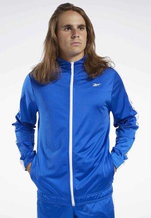 TRAINING ESSENTIALS TRACK JACKET - Training jacket - humble blue