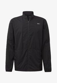 Reebok - RUNNING ESSENTIALS WIND JACKET - Sports jacket - black - 6