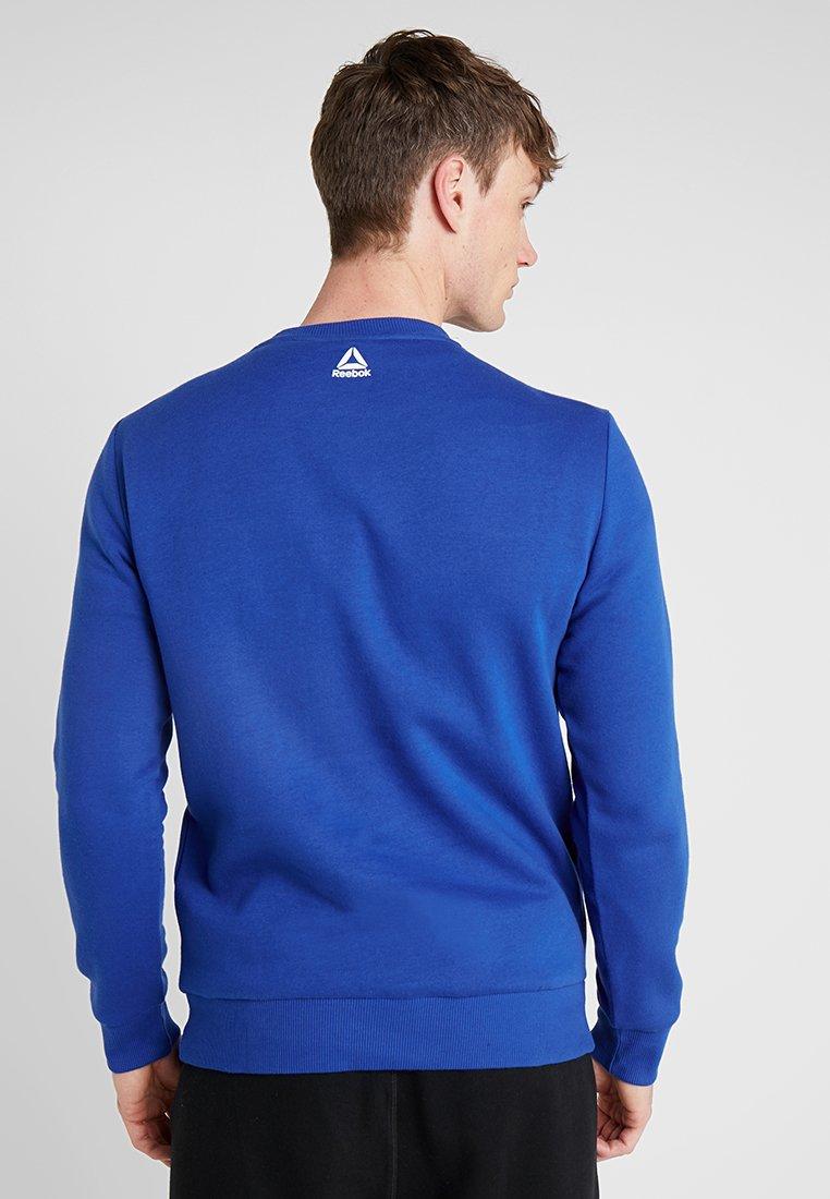 CrewSweatshirt Logo Cobalt Logo Reebok Big Big CrewSweatshirt Reebok N0wm8n