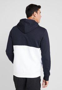 Reebok - HOODIE - veste en sweat zippée - dark blue - 2
