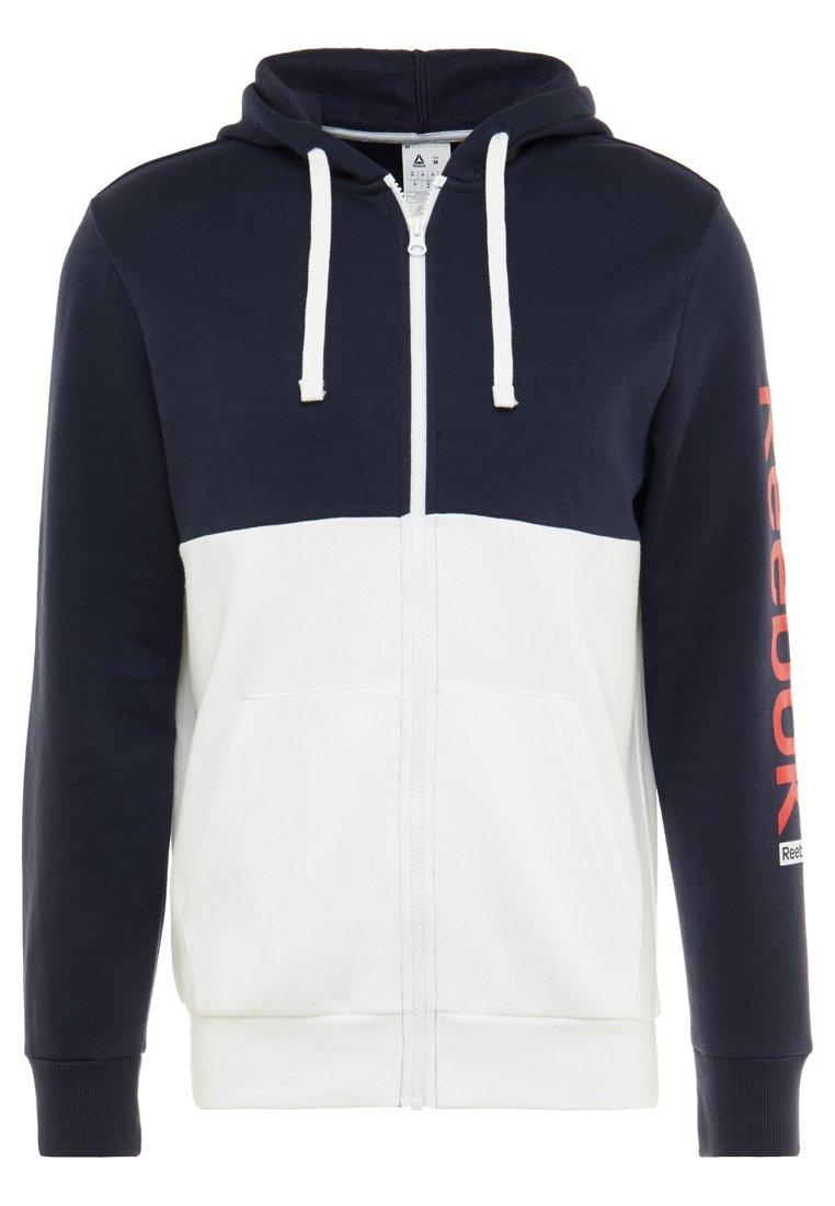 HOODIE veste en sweat zippée dark blue