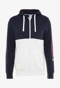 Reebok - HOODIE - veste en sweat zippée - dark blue - 4