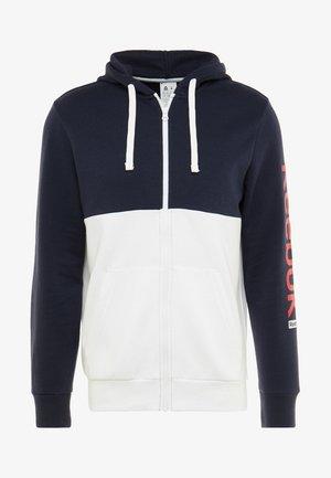 HOODIE - Zip-up hoodie - dark blue