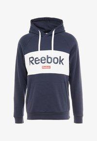 Reebok - TRAINING ESSENTIALS HOODIE - Hoodie - dark blue - 4