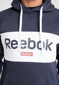 Reebok - TRAINING ESSENTIALS HOODIE - Hoodie - dark blue - 5