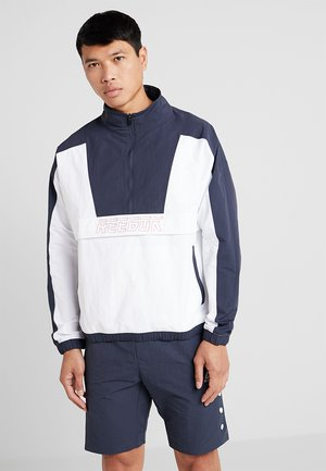 MEET YOU THERE 1/2 ZIP JACKET - Training jacket - dark blue
