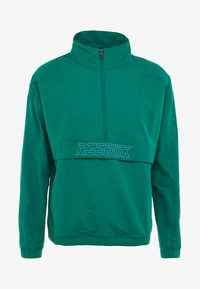 Reebok - MEET YOU THERE 1/2 ZIP JACKET - Träningsjacka - green - 5